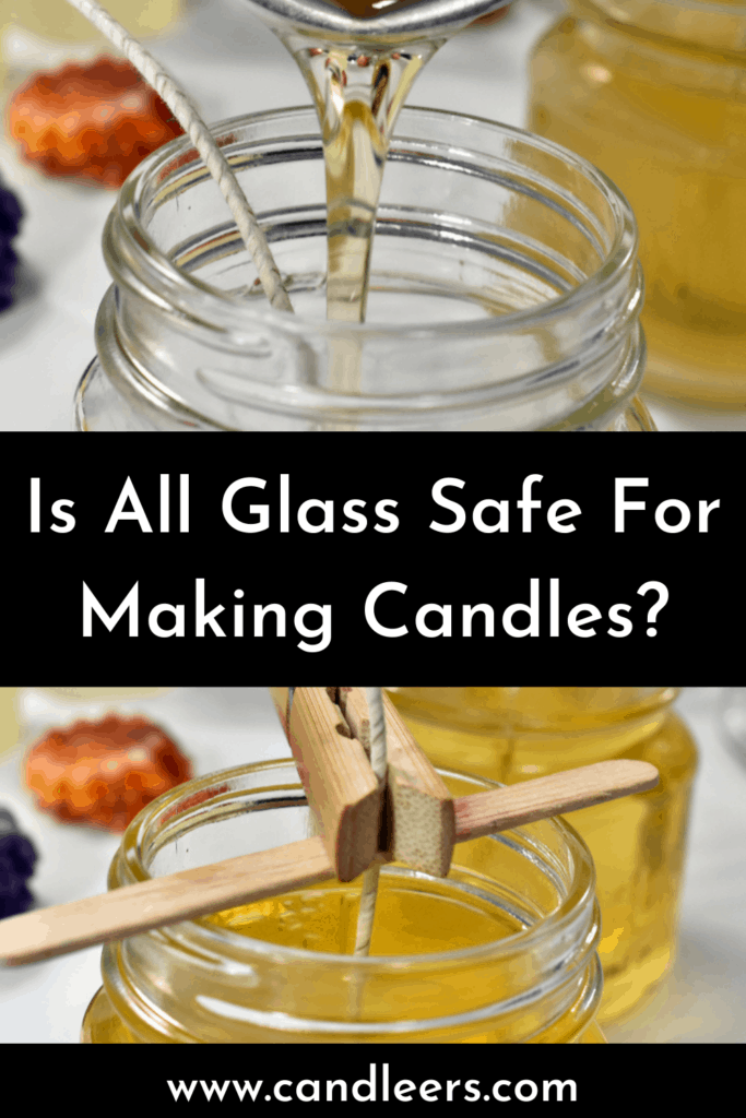 glass containers safe for candles